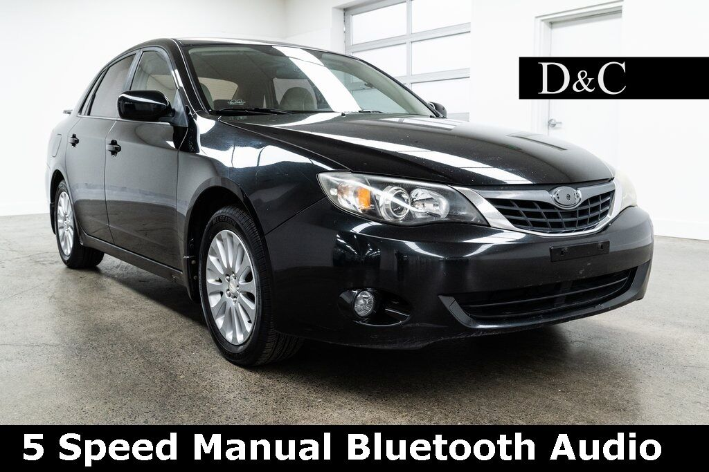 2008 Subaru Impreza 2.5i 5 Speed Manual Bluetooth Audio Portland OR