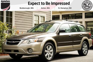 2008_Subaru_Outback_2.5i_ Boxborough MA