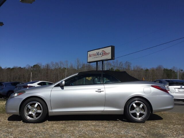 2008 Toyota Camry Solara SE Convertible Youngsville NC
