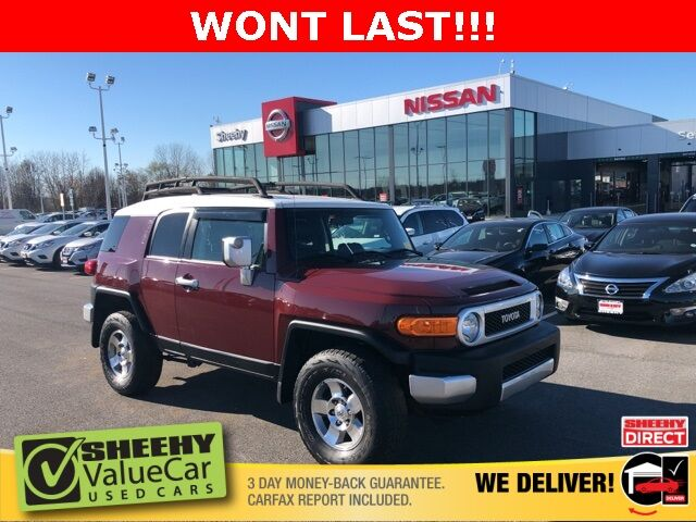 2008 Toyota FJ Cruiser Base White Marsh MD