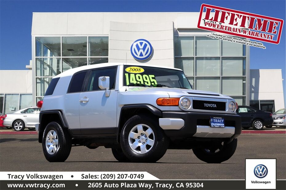 2008 Toyota FJ Cruiser Base Tracy CA