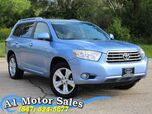 2008 Toyota Highlander Limited 1 Owner