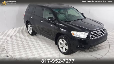 2008_Toyota_Highlander_Limited 3RD ROW SEATS,MOONROOF,NAV,BCK-CAM,BLUETOOTH..._ Euless TX