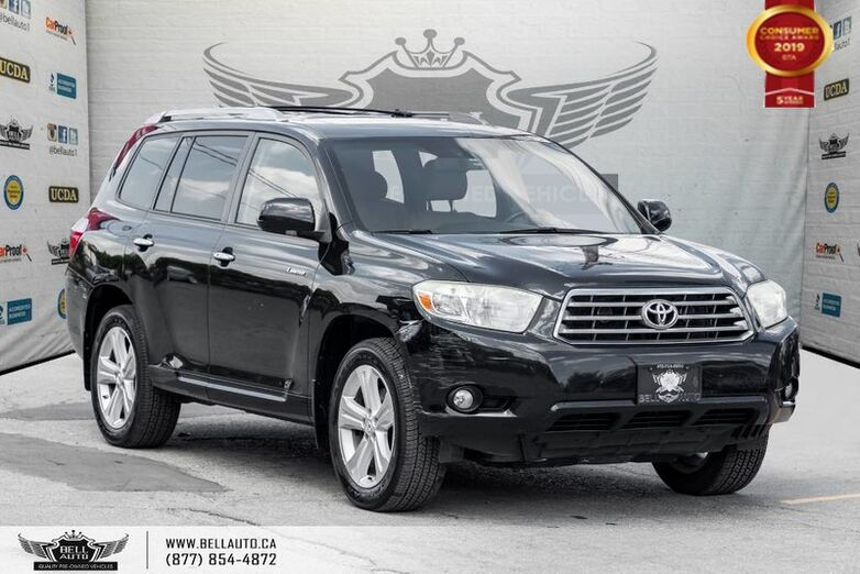 2008 Toyota Highlander Limited, AWD, NAVI, BACK-UP CAM, SUNROOF, LEATHER Toronto ON