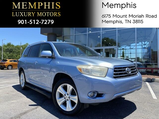2008 Toyota Highlander Limited Memphis TN