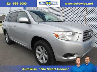 2008_Toyota_Highlander V6 3rd ROW_Base_ Melbourne FL