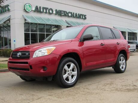 2008 Toyota RAV4 Base V6 4WD PRIVACY GLASS,CLIMATE CONTROL,AM/FM RADIO,LEATHER STEERING WHEEL,CD PLAYER. Plano TX