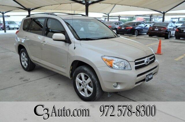 2008 Toyota RAV4 Ltd Plano TX