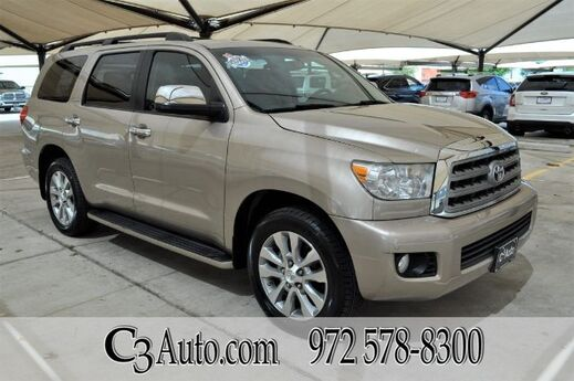 2008 Toyota Sequoia Ltd Plano TX