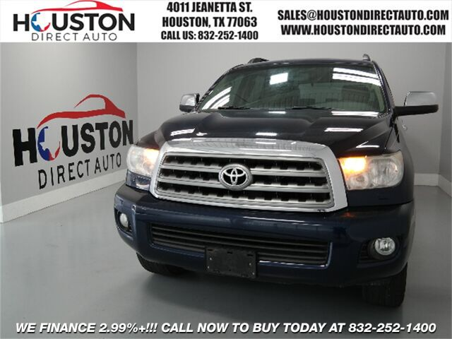 2008 Toyota Sequoia Platinum Houston TX