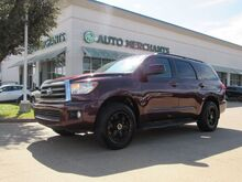 2008_Toyota_Sequoia_SR5 5.7L 2WD CLOTH SEATS, ENTERTAINMENT SYSTEM, AM/FM RADIO, 3RD ROW, CLIMATE CONTROL_ Plano TX