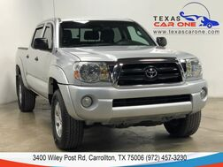 2008_Toyota_Tacoma_PRERUNNER DOUBLE CAB V6 SR5 AUTOMATIC BED LINER TOWING HITCH ALL_ Carrollton TX