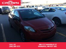 2008_Toyota_Yaris_4dr Sdn Auto Convenience Pkg / Low Kms / Local / Great Value_ Winnipeg MB