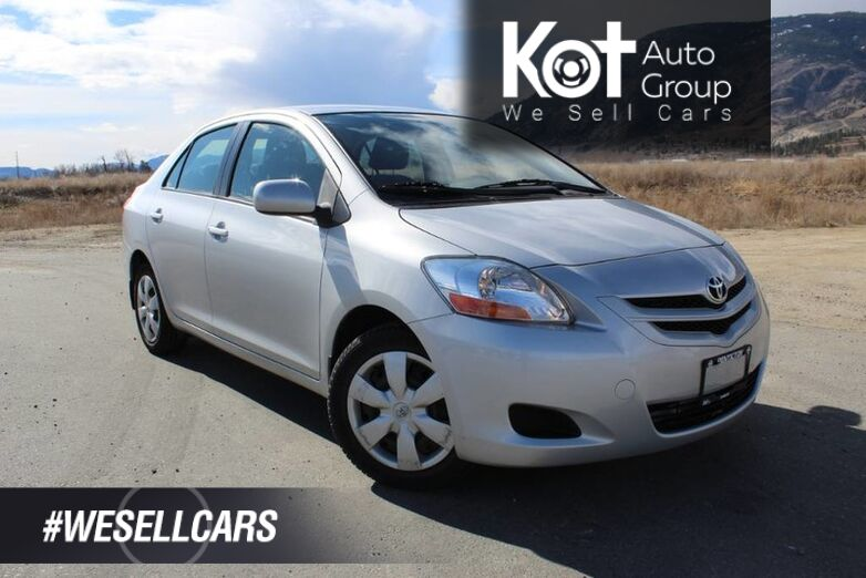 2008 Toyota Yaris Great Fuel Economy Kelowna BC