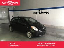 2008_Toyota_Yaris_HB Auto LE / One Owner / Local / Low Kms / Great Value_ Winnipeg MB