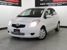 2008_Toyota_Yaris_LIFTBACK CD/MP3 PLAYER AUX INPUT AIR CONDITIONING POWER LOCKS PO_ Carrollton TX