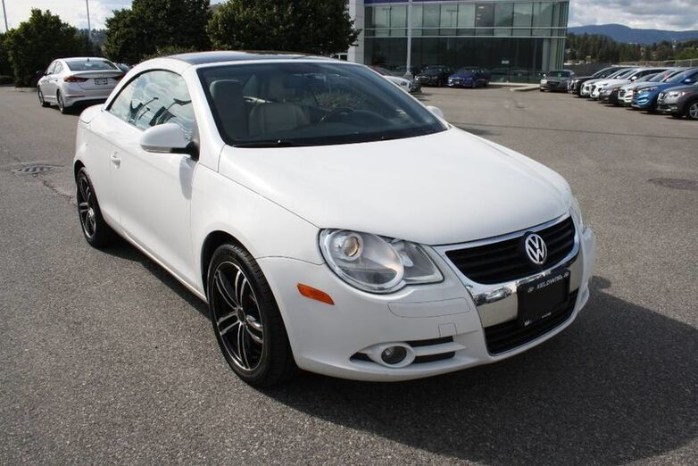 2008 Volkswagen Eos Trendline Leather,convertible, No accidents, 2 Sets of Tires Kelowna BC