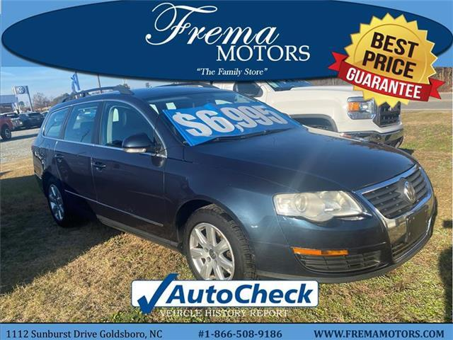 2008 Volkswagen Passat Turbo Front-wheel Drive Station Wagon