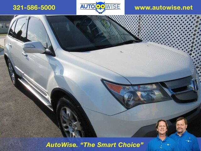 Acura 4 Door MDX TECH PKG Tech Pkg 2009