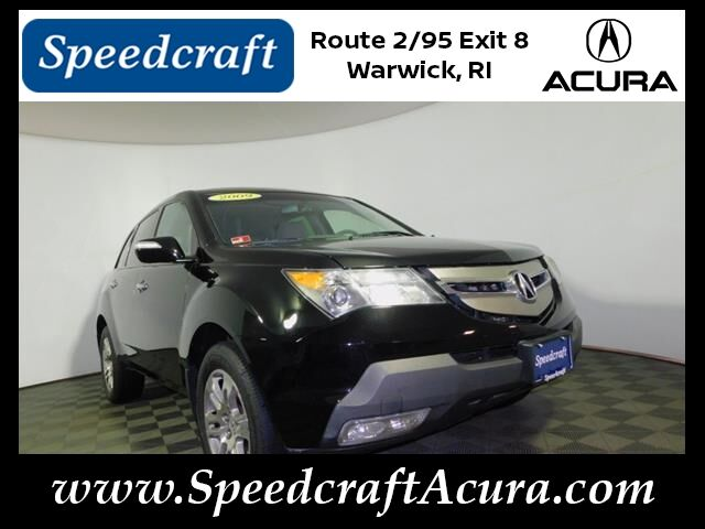2009 Acura MDX with Technology Package Wakefield RI