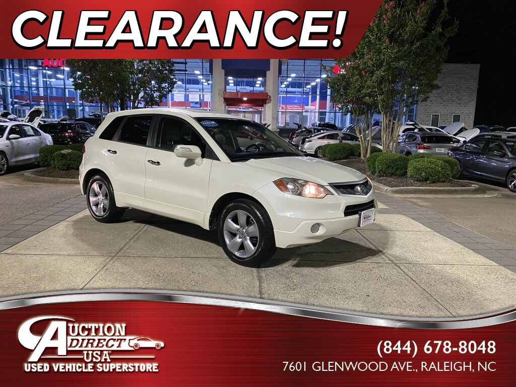 2009 Acura RDX Technology Package Raleigh NC