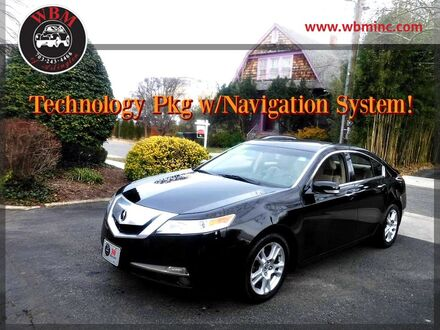 2009_Acura_TL_w/ Technology Package_ Arlington VA