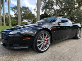 2009_Aston Martin_DB9_Volante_ Hollywood FL