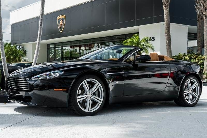 2009_Aston Martin_Vantage__ Palm Beach FL