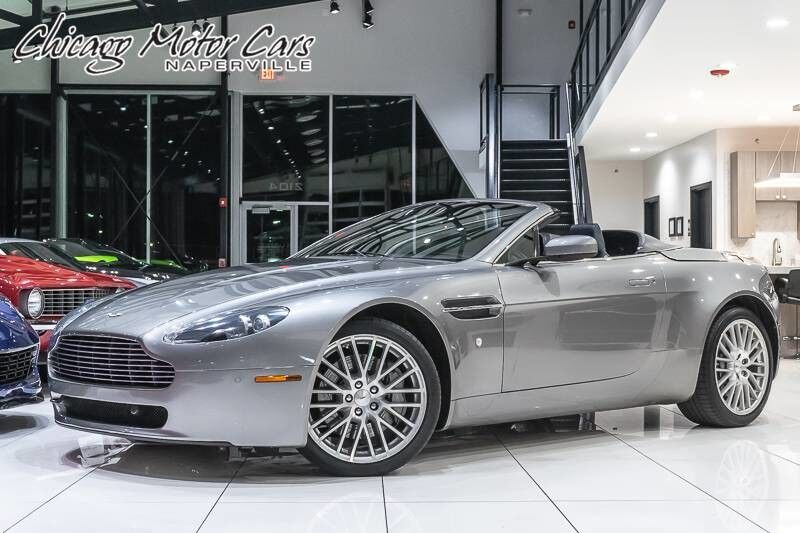 2009_Aston Martin_Vantage_Convertible_ Chicago IL