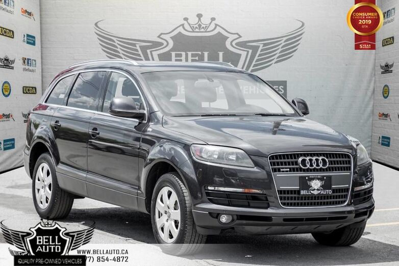 2009 Audi Q7 AWD, BACK-UP CAM, PANO ROOF, SENSORS, HEATED SEATS, LEATHER Toronto ON