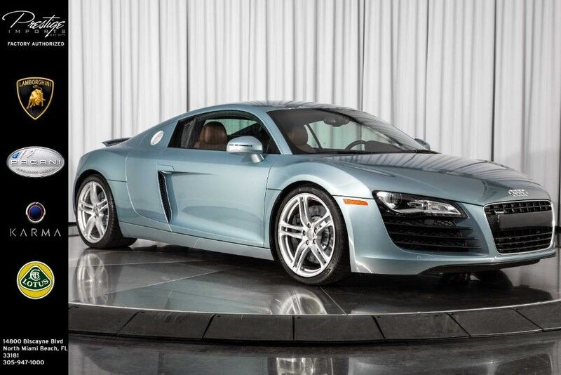 2009_Audi_R8_4.2L_ North Miami Beach FL