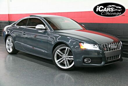 2009_Audi_S5_2dr Coupe_ Chicago IL