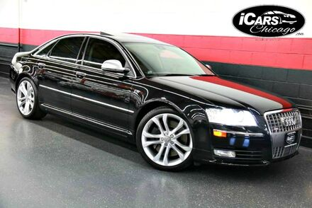 2009_Audi_S8_4dr Sedan_ Chicago IL