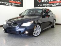 BMW 550i SPORT PKG PREMIUM PKG NAVIGATION SUNROOF LEATHER HEATED SEATS 2009