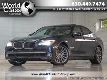 2009_BMW_7 Series_750i LEATHER SUNROOF NAVI BACKUP CAMERA ONE OWNER_ Chicago IL