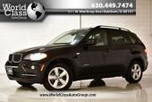 2009 BMW X5 30i XDRIVE PANORAMIC SUNROOF NAVIGATION BROW LEATHER PARK SENSORS BACK-UP CAMERA