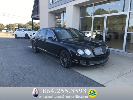 2009 Bentley Continental Flying Spur Speed Greenville SC