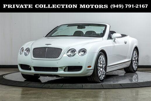 2009 Bentley Continental GT Convertible Mulliner Costa Mesa CA