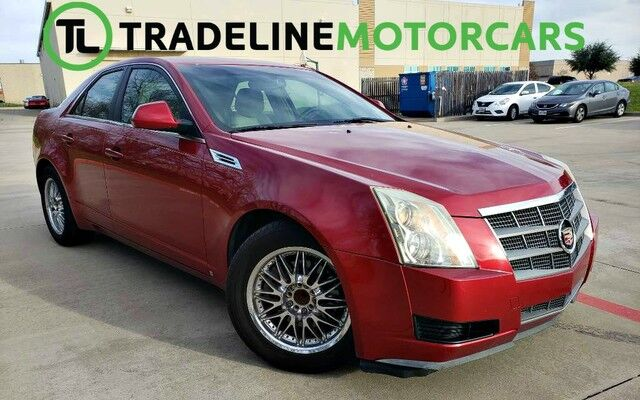 2009 Cadillac CTS RWD w/1SA LEATHER, BLUETOOTH, KEY-LESS START, AND MUCH MORE!!! CARROLLTON TX