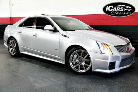 2009_Cadillac_CTS-V_4dr Sedan_ Chicago IL
