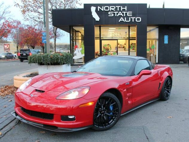 2009_Chevrolet_Corvette_ZR1 w/3ZR_ Walnut Creek CA