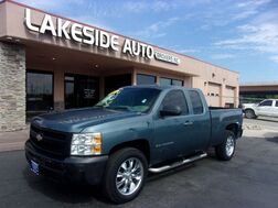 2009_Chevrolet_Silverado 1500_Work Truck Ext. Cab Short Box 2WD_ Colorado Springs CO