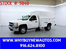 2009_Chevrolet_Silverado 3500HD_Enclosed Utility ~ 4x4 ~ High Roof ~ Only 62K Miles!_ Rocklin CA