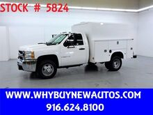 2009_Chevrolet_Silverado 3500HD_Enclosed Utility ~ 4x4 ~ High Roof ~ Only 66K Miles!_ Rocklin CA