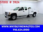 2009 Chevrolet Silverado 3500HD Utility ~ Extended Cab ~ Liftgate ~ Only 43K Miles!