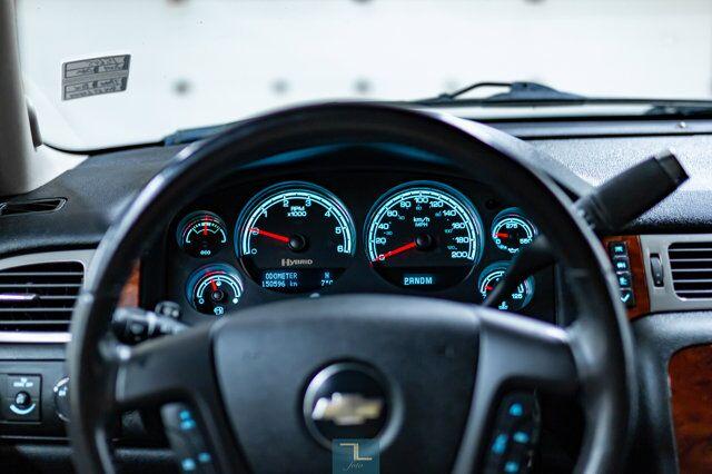 2009 Chevrolet Tahoe 4x4 LT Leather Nav BCam 3rd Row Red Deer AB