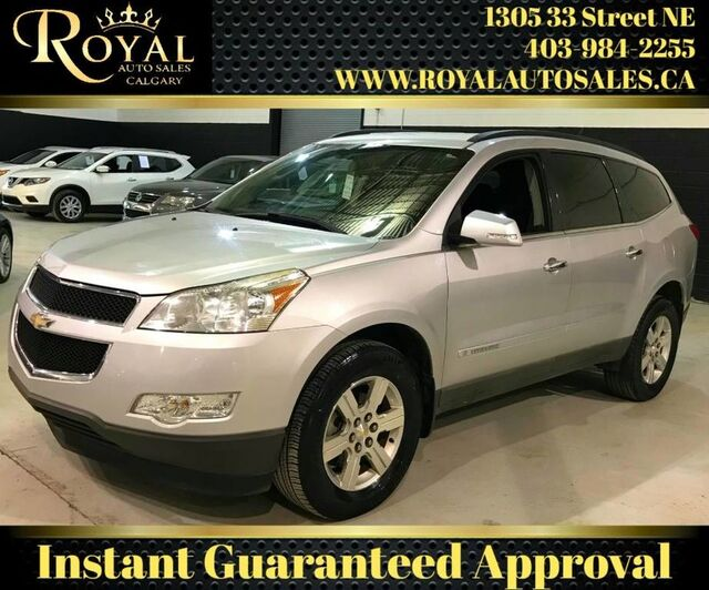 2009_Chevrolet_Traverse_2LT 3RD ROW SEATING, BACK UP SENSORS_ Calgary AB