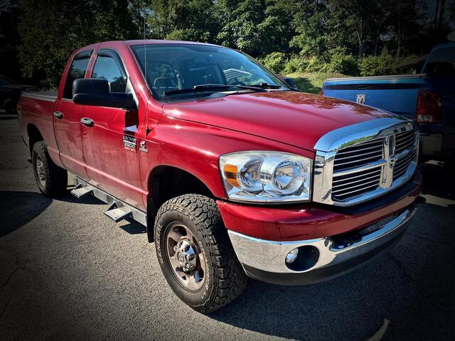 2009_DODGE_RAM 2500 QUAD CAB 4X4_BIG HORN 6 SPEED MANUAL TRANSMISSION_ Bridgeport WV