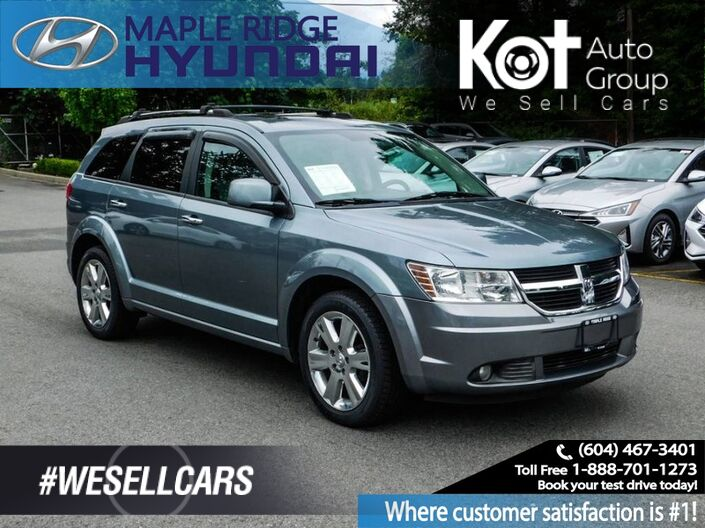 2009 Dodge Journey R/T! AWD! 7 PASS! LEATHER! SUNROOF! SPORT MODEL! Kelowna BC