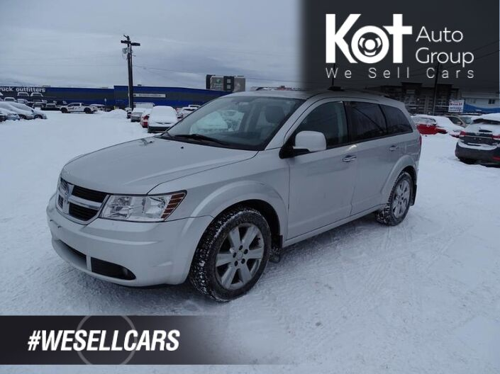 2009 Dodge Journey R/T, Heated Leather Seats, Navigation Kelowna BC